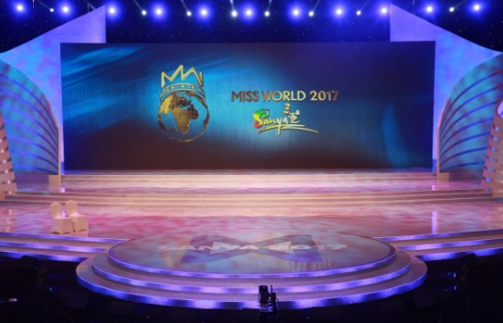 Miss World 2017 stage