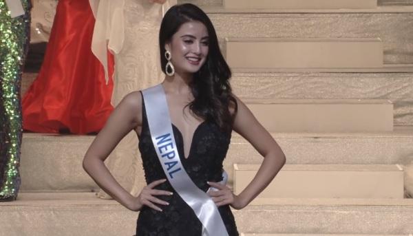 Miss International Nepal 2017 Niti Shah