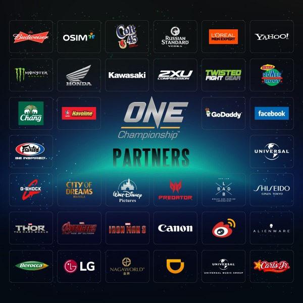 ONE Championship partners