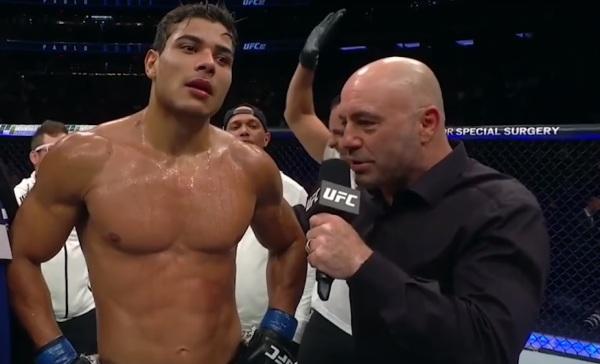 Paulo Costa, Joe Rogen (YouTube/UFC- Ultimate Fighting Championship)