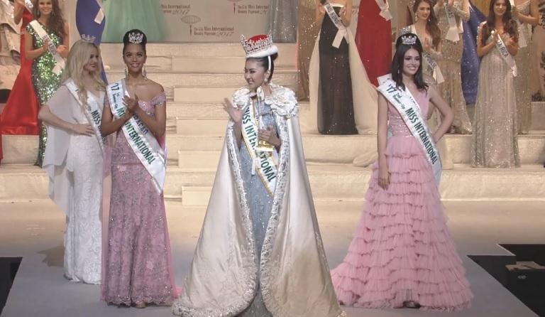 Chanelle De Lau, Miss International 2017 Kevin Lilliana, Diana Croce, Amber Dew
