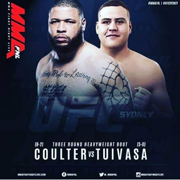 Rashad Coulter, Tai Tuivasa