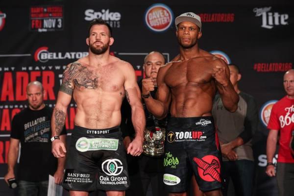Ryan Bader, Linton Vassell (Facebook/Bellator MMA)