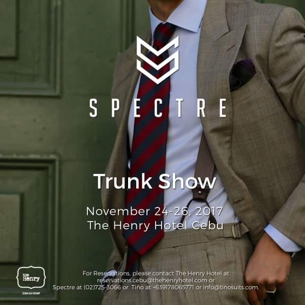 Spectre Trunk Show
