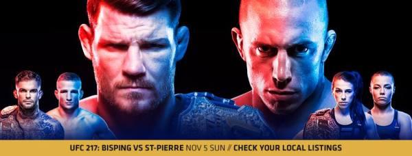 UFC 217 (Facebook/UFC)