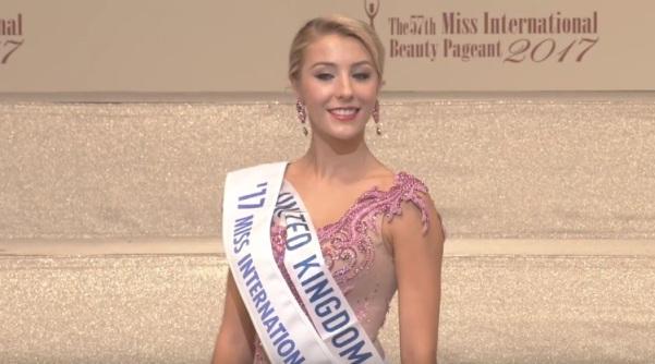 Miss International United Kingdom 2017 Ashley Powell
