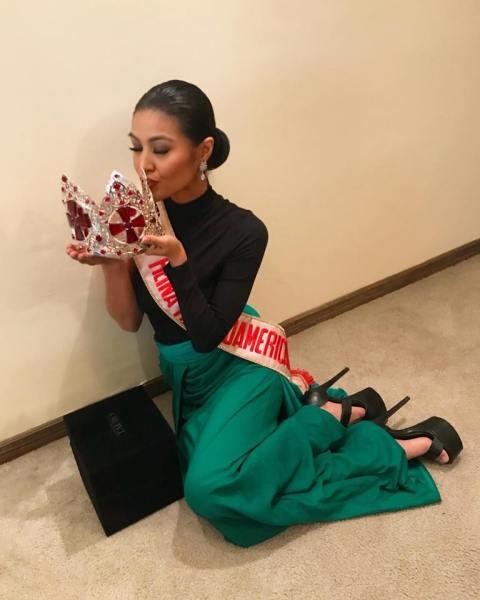 Winwyn Marquez (Facebook/Reina Hispanoamericana)