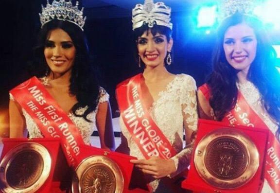 Yenny Carillo, Dimple Patel, Kristina Skurra (Facebook/Femina Miss India)