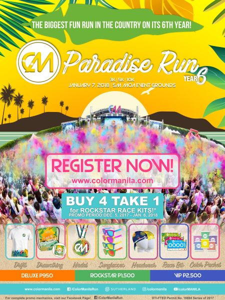 ColorManila CM Paradise Run