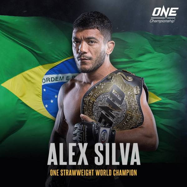 Alex Silva (Facebook/ONE Championship)