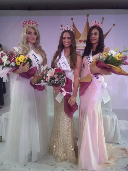 Arsine Misirian, Lily Kraly, Esin Terzioglu (Facebook/Miss Diamond of the World)