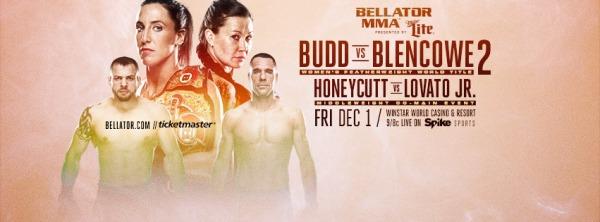 Chris Honeycutt, Julia Budd, Arlene Blencowe, Rafael Lovato Jr (Facebook/Bellator MMA)