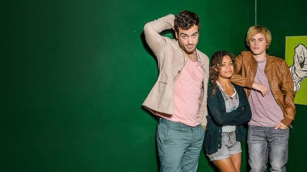 Daniel Ings, Antonia Thomas, Johnny Flynn (Facebook/Lovesick Netflix)
