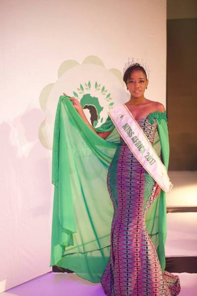 Gaseangwe Balopi (Facebook/MISS Africa)
