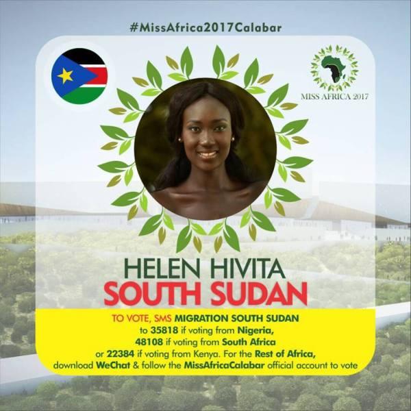 Helen Hivita(Facebook/MISS Africa)