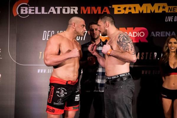 James Thompson, Philip De Fries (Facebook/Bellator MMA)
