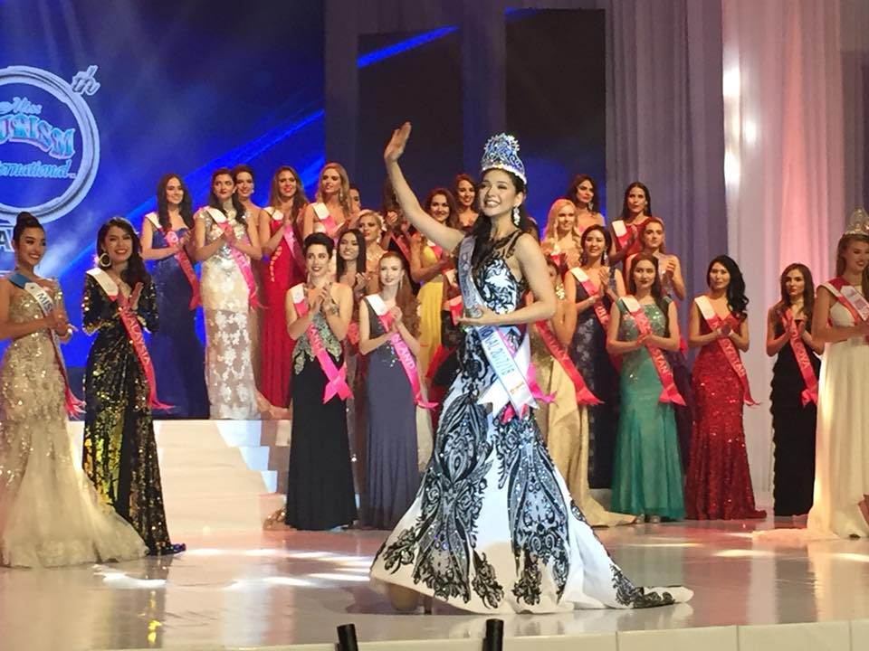 Philippines' Jannie Loudette Alipo-on is Miss Tourism