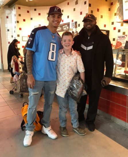Jarrett Guarantano, Keaton Jones (Twitter/Jarrett Guarantano)