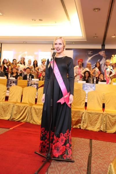 Karolina Matrosova (Facebook/Miss Tourism International)