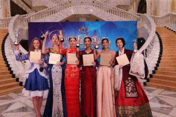 Ksenia Novačuk, Su Siqi, Yue Han, Kelly Reap, Mili Soni, Oh Sebin (Facebook/Asian Supermodel Contest)