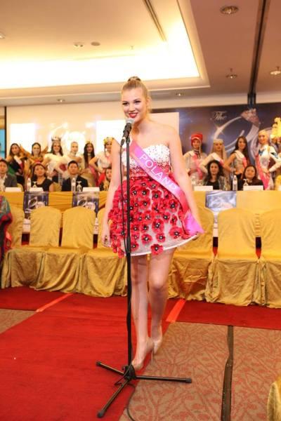 Maja Sieron (Facebook/Miss Tourism International)