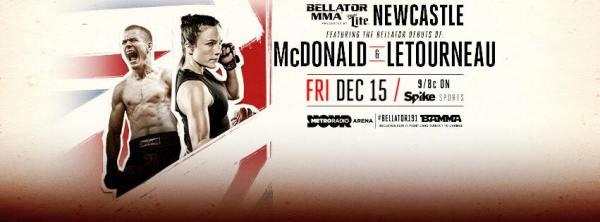 Michael McDonald, Valerie Letourneau (Facebook/Bellator MMA)