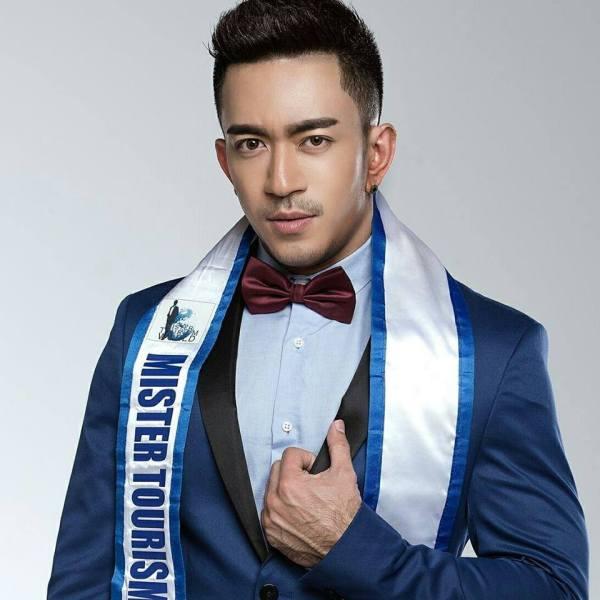 Okkar Min Aung (Facebook/Mister Tourism World)