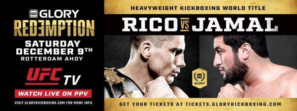 Rico Verhoeven vs. Jamal Ben Saddik (Facebook/GLORY Kickboxing)