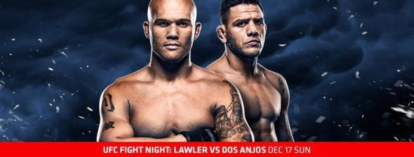Robbie Lawler, Rafael Dos Anjos (Facebook/UFC)