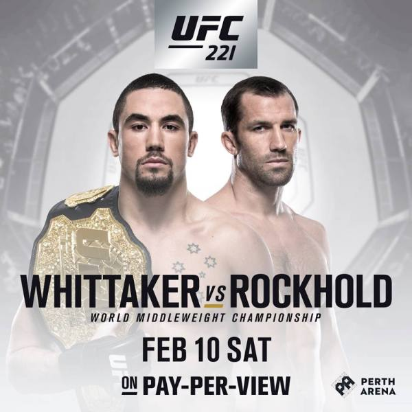 Robert Whitaker, Luke Rockhold (Facebook/UFC)