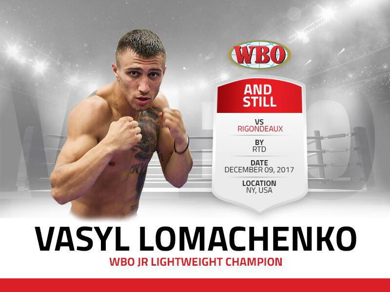 Vasyl Lomachenko (Facebook/WBO)