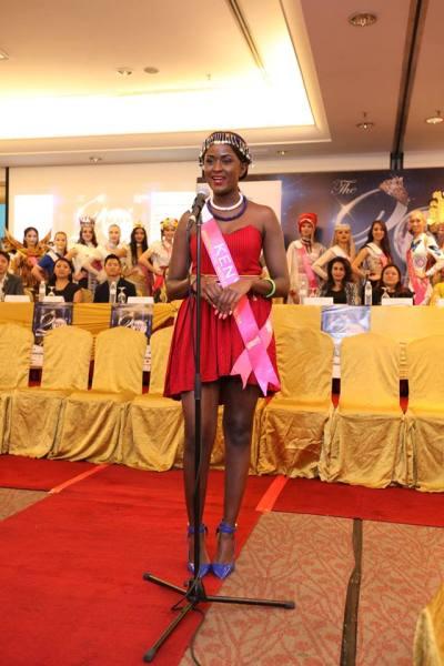 Wendy Bella Omollo (Facebook/Miss Tourism International)
