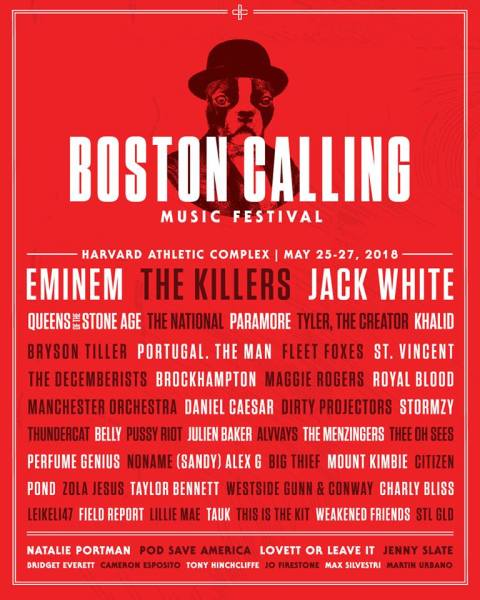Boston Calling Music Festival 2018 (Facebook/Boston Calling Music Festival)