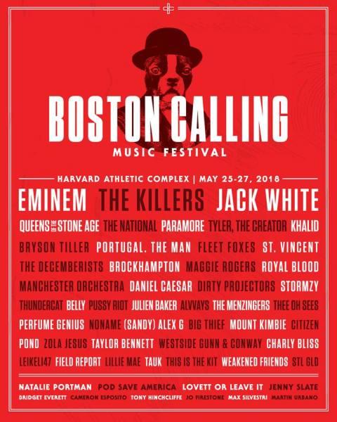 Boston Calling Music Festival 2018 (Facebook/Boston Calling Music Festival)