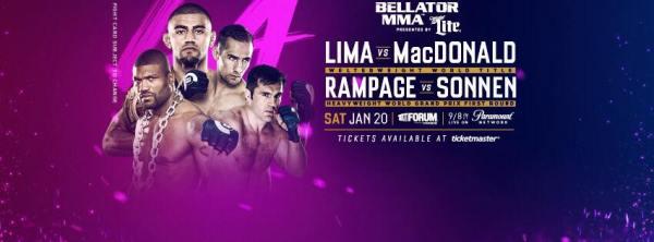 Douglas Lima, Rory MacDonald, Quinton Jackson, Chael Sonnen (Facebook/Bellator MMA)