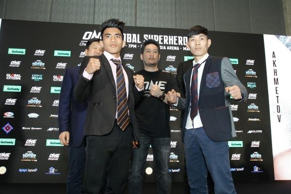 Wei Soo, Joshua Pacio, Chatri Sityodtong, Lan Ming Qiang