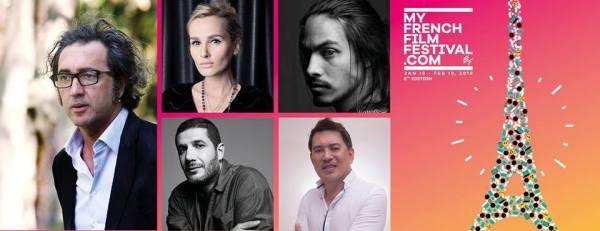 Paolo Sorrentino, Julia Ducournau, Nabil Ayouch, Kim Chapiron, Brillante Mendoza (Facebook/MyFrenchFilmFestival.com)