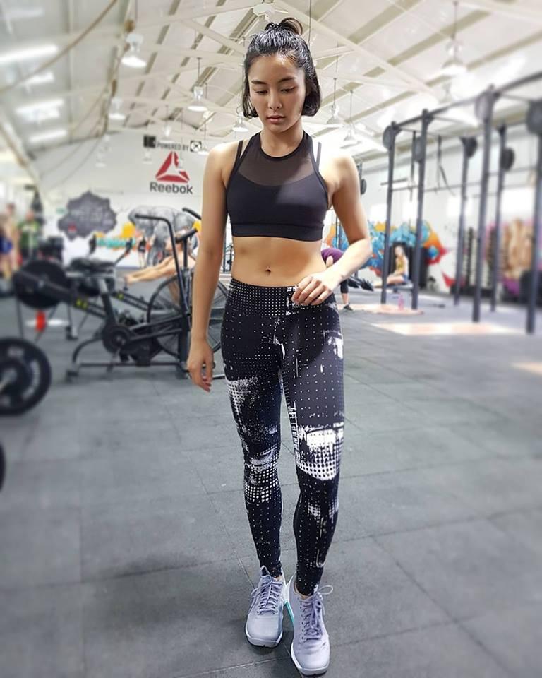 One Championship Star Rika Ishige Rocks Reebok Outfit