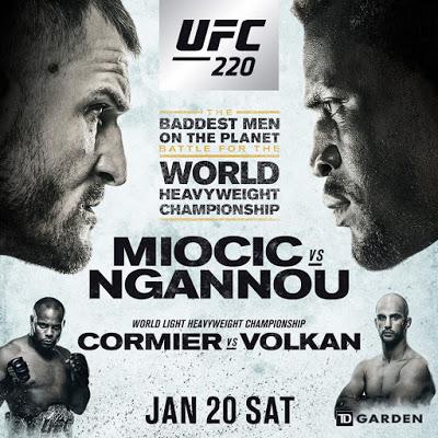 Stipe Miocic, Francis Ngannou, Daniel Cormier, Volkan Oezdemir (Facebook/UFC)