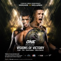 Complete 'ONE: Visions of Victory' fight card announced