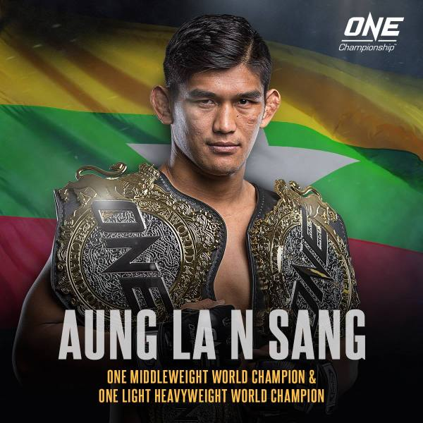 Aung La N Sang (Facebook/ONE Championship)
