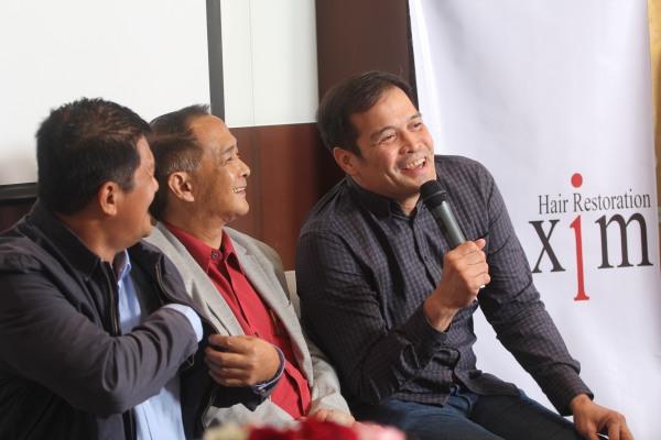 Mar Sabillo, John Ocampo, Alvin Patrimonio
