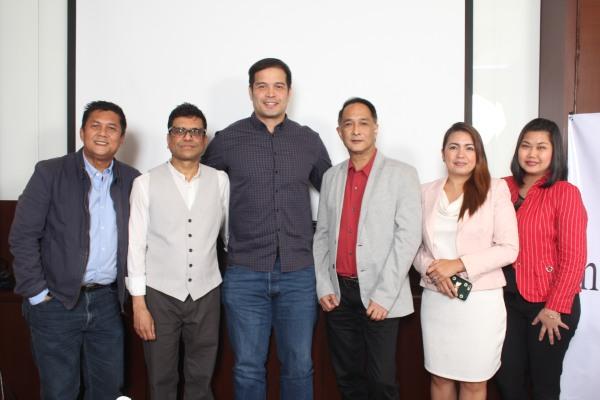 Mar Sabillo, Alvin Patrimonio, Mac Fadra, John Ocampo, Michelle Fio, Richelle Gapasin
