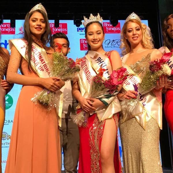Shefali Sharma, Sophia Senoron, Saskia Kuban (Facebook/Arnold Vegafria)