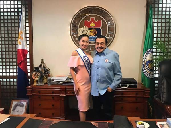Sophia Senoron, Joseph Ejercito Estrada (Facebook/Sophia Senoron)
