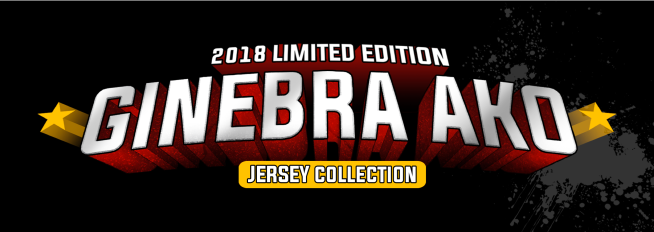 2018 Limited Edition Ginebra Ako Jersey Collection Black