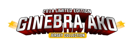 2018 Limited Edition Ginebra Ako Jersey Collection White