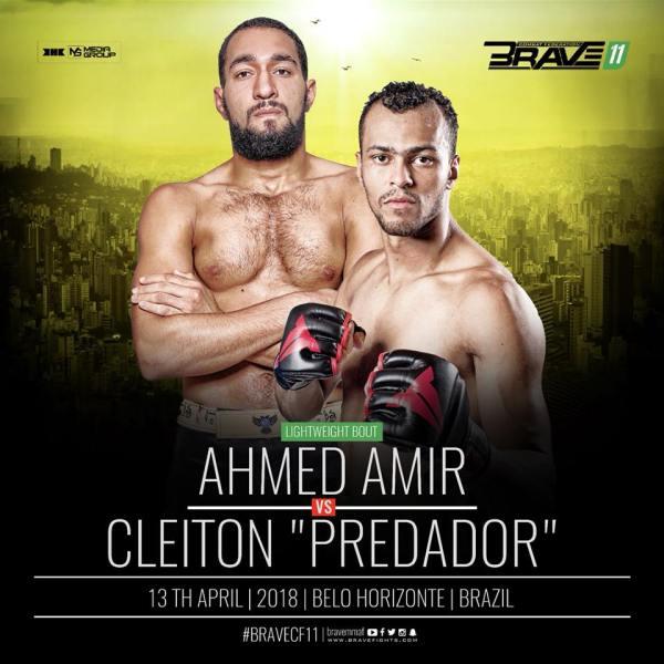 Ahmed Amir, Cleiton Silva (Facebook/Brave Combat Federation)