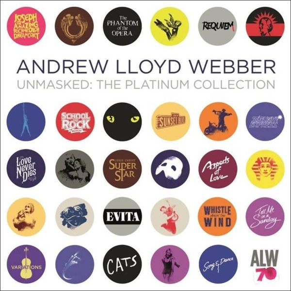 'Unmasked: The Platinum Collection' by Andrew Lloyd Webber