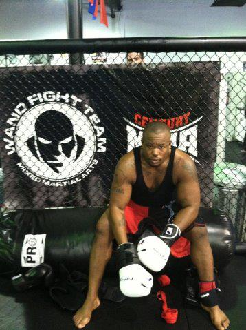 Azunna Anyanwu (Facebook/Xtreme Caged Combat)